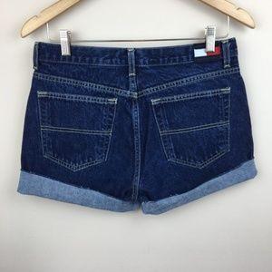 Vintage TOMMY HILFIGER Custom Cutoff Jean Shorts